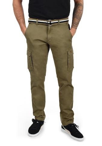 Blend Cargohose »Brutus«, (mit Gürtel), lange Hose mit Seitentaschen und Gürtel kaufen