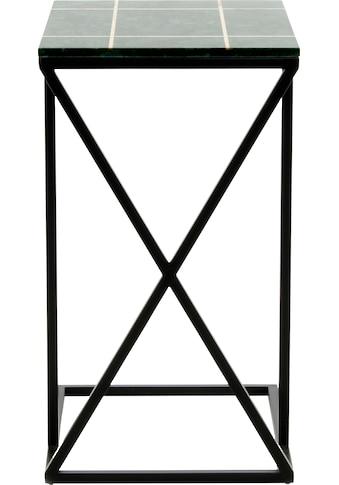 Kayoom Beistelltisch »Beistelltisch Louis 125«, Marmor-Tischplatte kaufen