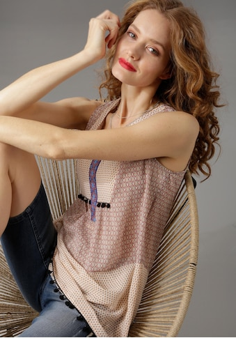 Aniston CASUAL Blusentop, im trendigen Mustermix kaufen