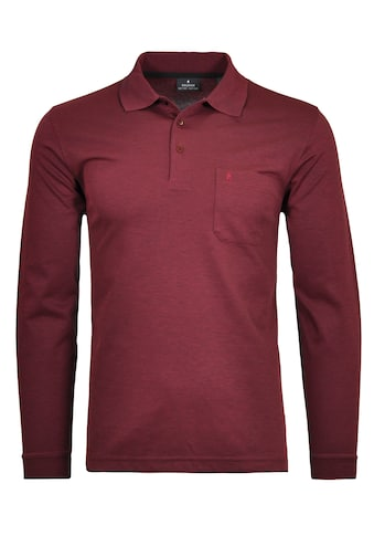 RAGMAN Langarm-Poloshirt kaufen