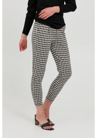 Ichi Stoffhose »IHKATE CHECKY PA2 20114644«, schicke Anzugshose mit Muster kaufen