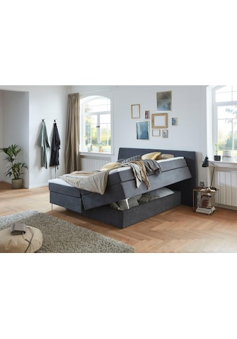 Premium collection by Home affaire Boxspringbett »Linda«, mit unsichtbarem Bettkasten,... kaufen