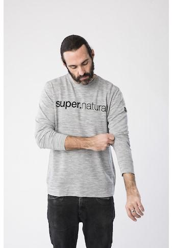 SUPER.NATURAL Sweatshirt »M SIGNATURE CREW« kaufen