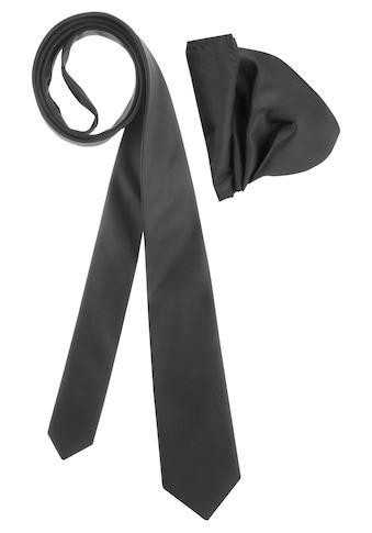 Bruno Banani Krawatte (Set, 2 tlg., mit Einstecktuch) kaufen