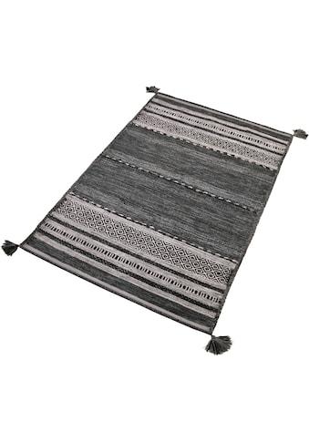 Teppich, »Temptation«, Home affaire, rechteckig, Höhe 5 mm, handgewebt kaufen