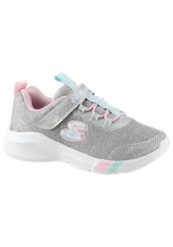 Skechers Kids Sneaker »Dreamy Lites«, mit coolen Glitzer-Applikationen kaufen
