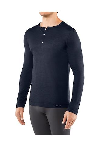 FALKE Langarmshirt »Silk - Wool« kaufen