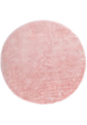 Fellteppich, »Lamm Fellimitat«, Andiamo, rund, Höhe 20 mm, maschinell gewebt kaufen