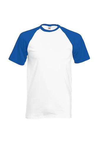 Fruit of the Loom T - Shirt »Herren Baseball , kurzärmlig« kaufen