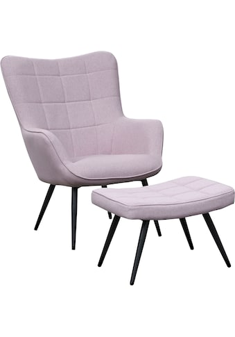 Homexperts Sessel »ULLA«, wahlweise mit oder ohne Hocker kaufen