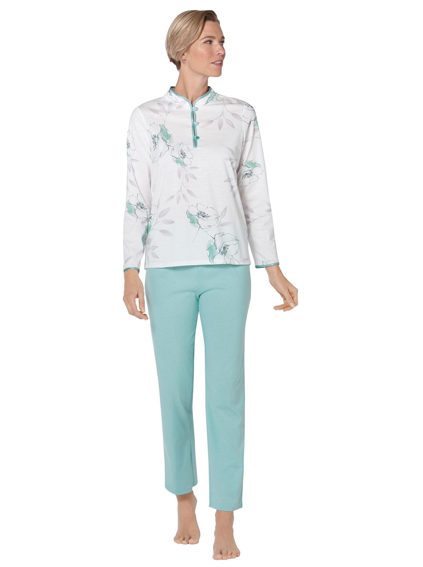 Image of Arabella Schlafanzug mit Blüten-Dessin