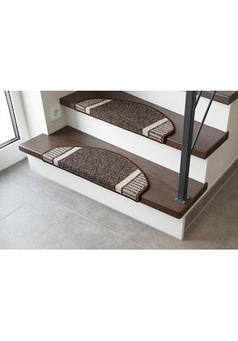 Stufenmatte, »Runner«, Andiamo, halbrund, Höhe 9 mm, maschinell getuftet kaufen