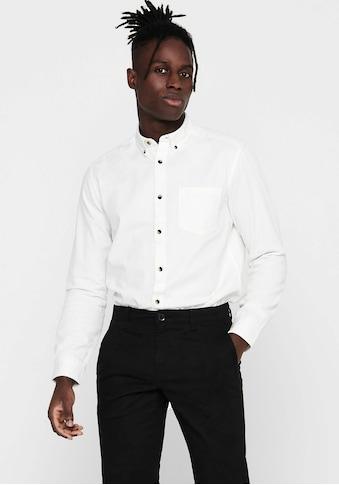 ONLY & SONS Langarmhemd »BRYCE LIFE ORGANIC SHIRT« kaufen