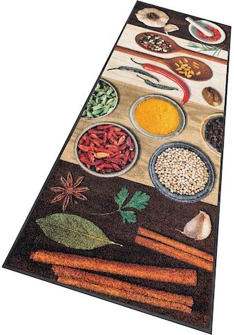 wash+dry by Kleen-Tex Küchenläufer »Hot Spices«, rechteckig, 9 mm Höhe, In- und... kaufen