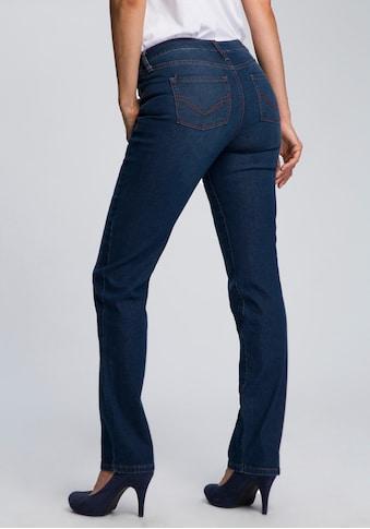 H.I.S Straight-Jeans »Regular-Waist«, Nachhaltige, wassersparende Produktion durch OZON WASH kaufen