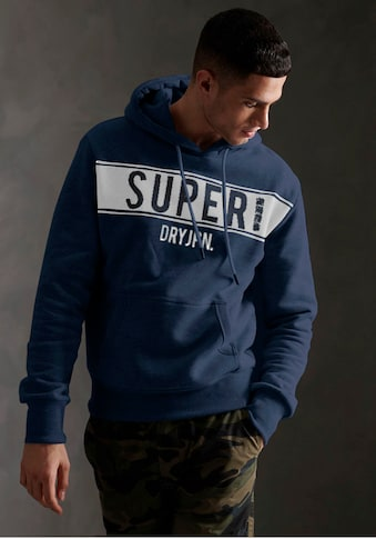 Superdry Kapuzensweatshirt »SDRY PANEL HOOD« kaufen