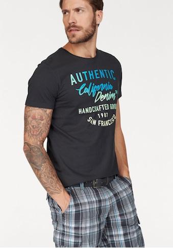 John Devin T-Shirt, mit coolem Druck kaufen