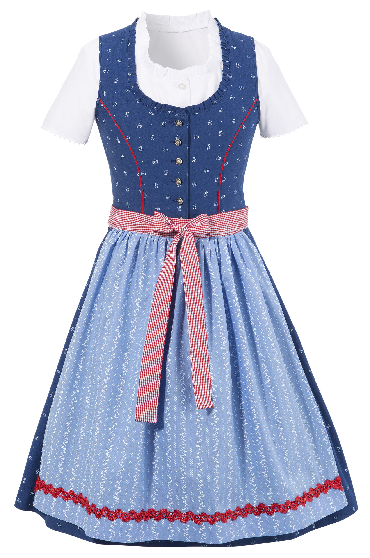 Image of Andreas Gabalier Kollektion Dirndl, (3 tlg.), Kinder durchgeknöpft auch als Kleid tragbar