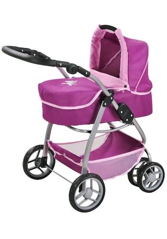 Knorrtoys® Kombi-Puppenwagen »Coco, UMA. Das Einhorn, lila« kaufen