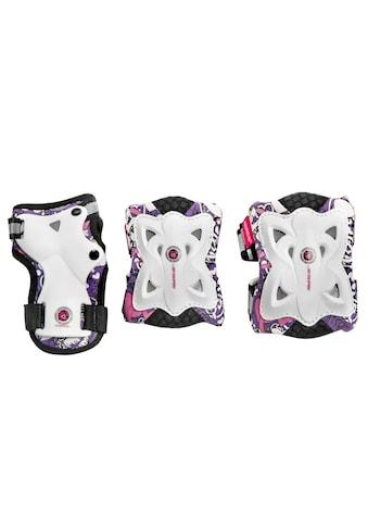 Powerslide Schutz - Set »Pro Butterfly« (Set, 3 - tlg., mit Knie - , Ellenbogen -  und Hangelenkschutz) kaufen