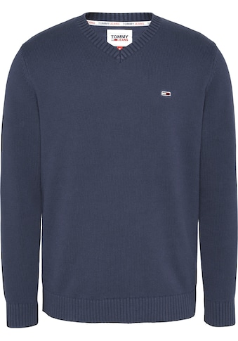 TOMMY JEANS Strickpullover »TJM ESSENTIAL V - NECK SWEATER« kaufen