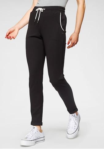 Ocean Sportswear Jogginghose »Slim Fit«, mit Aufschlag am Beinsaum kaufen