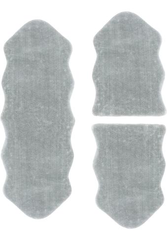Bettumrandung »Lamm Fellimitat« Andiamo, Höhe 20 mm (3 - tlg.) kaufen