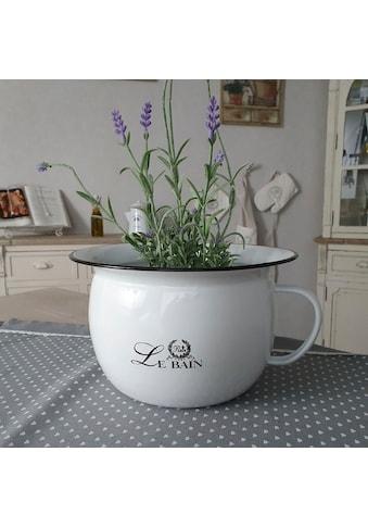 Ambiente Haus Übertopf »Nachttopf / Töpfchen aus Emaille«, (1 St.) kaufen