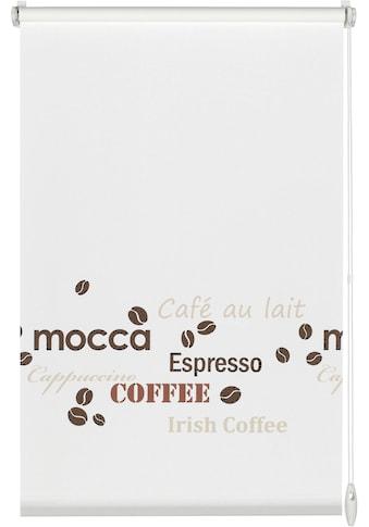 GARDINIA Seitenzugrollo »EASYFIX Rollo Dekor Coffee«, Lichtschutz, ohne Bohren, im... kaufen