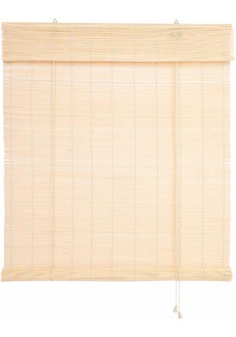Seitenzugrollo »Bambus«, Liedeco, Lichtschutz kaufen