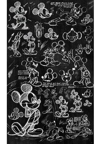 KOMAR Vliestapete »Mickey  -  Chalkboard« kaufen