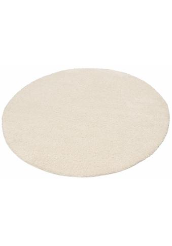 my home Hochflor-Teppich »Bodrum«, rund, 30 mm Höhe, weicher Flor, Wohnzimmer kaufen