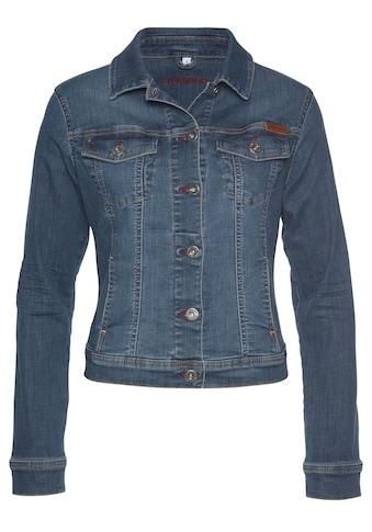 BLUE FIRE Jeansjacke »GIPSY«, mit Brust- & Seitentaschen kaufen