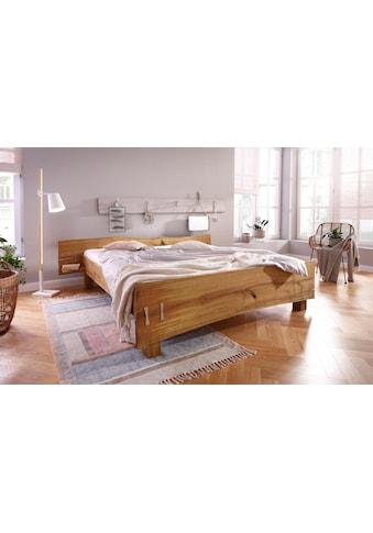Premium collection by Home affaire Futonbett »Slabs«, (aus massiver Eiche mit... kaufen