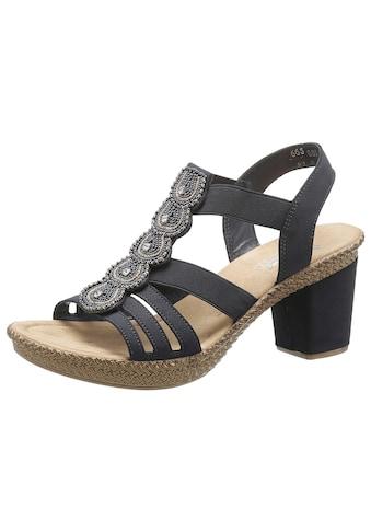 Rieker Sandalette, mit Schmuck-Applikation kaufen