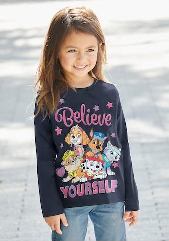 PAW PATROL Langarmshirt »BELIEVE YOURSELF« kaufen