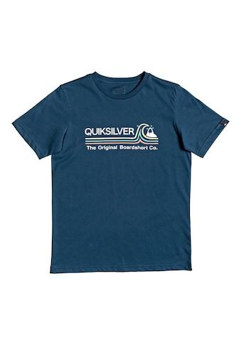 Quiksilver T-Shirt »Stone Cold Classic« kaufen