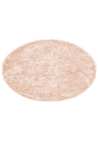Hochflor - Teppich, »Alga«, Bruno Banani, rund, Höhe 40 mm, handgewebt kaufen