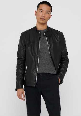 ONLY & SONS Lederjacke »DEAN NEW LEATHER JACKET« kaufen