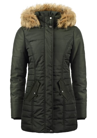 Vero Moda Parka »Nadia«, Winterjacke mit abnehmbarem Kunstfellkragen kaufen