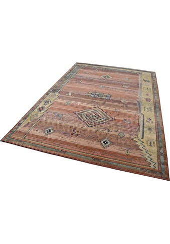Teppich, »Gabiro 002«, THEKO, rechteckig, Höhe 10 mm, maschinell gewebt kaufen