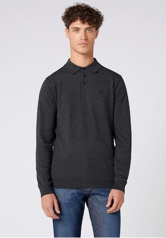 Wrangler Langarm - Poloshirt kaufen