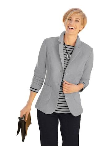 Casual Looks Fleece - Blazer mit Reverskragen kaufen