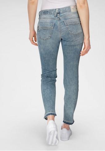 Herrlicher 7/8-Jeans »TOUCH CROPPED«, mit Cut-Off Saumabschluss kaufen