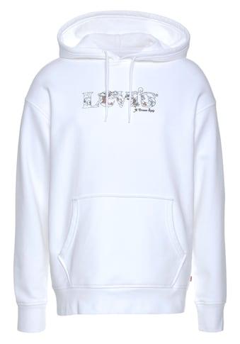 Levi's® Kapuzensweatshirt »LE T2 RELAXED GRAPHIC PO«, mit Logoschriftzug kaufen