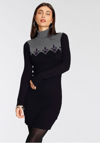 Melrose Strickkleid, mit Norweger-Muster - NEUE KOLLEKTION kaufen