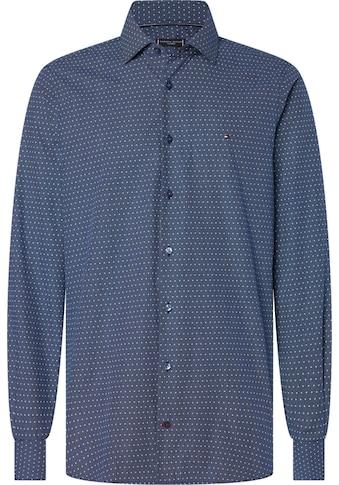 Tommy Hilfiger TAILORED Businesshemd »DOT PRINT CLASSIC SLIM SHIRT« kaufen