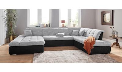 DOMO collection Wohnlandschaft »PB Moric«, XXL, wahlweise mit Bettfunktion und... kaufen