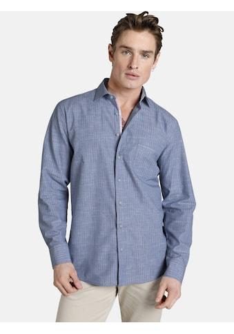 SHIRTMASTER Langarmhemd »blueandcoral« kaufen