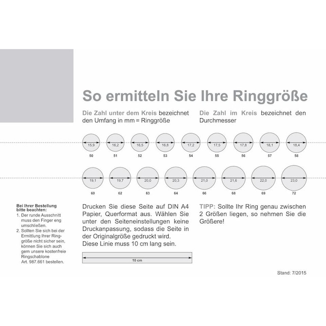qudo Ring-Set »Firenze, O600037, O600039, O600040, O600042« (Set, 2 tlg.)